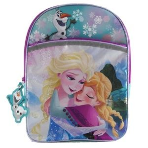 Backpack - Frozen - Large 16 Inch - Girls